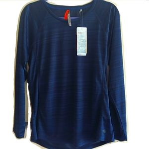 NWT | athletic navy blue lightweight pullover